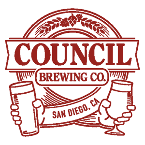 Logo de la brasserie californienne Council Brewing Company